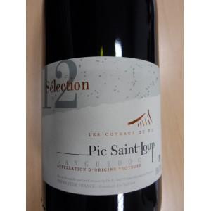 """Languedoc Pic Saint-Loup """"Sélection"""" rouge 2012, Les Coteaux du Pic"""