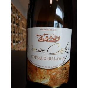 Coteaux du Layon blanc Domaine Cady 2012