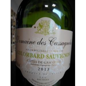 Colombard Sauvignon IGP Côtes de Gascogne blanc 2013