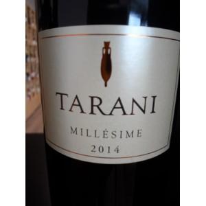 """""""Tarani"""" rouge IGP Comté Tolosan 2014 Vinovalie"""