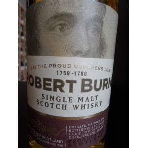 ARRAN Robert Burns Single Malt scotch whisky 70cl 43%