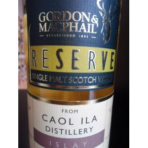 CAOL ILA  Gordon&Macphail Reserve ISLAY Single Malt scotch whisky 70cl 40%