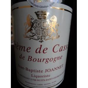 Crème de Cassis de Bourgogne Jean-Baptiste JOANNET 70cl 20%