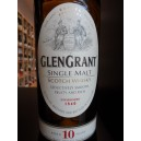 Glengrant 10 ans SPEYSIDE, Single Malt scotch whisky, 40% 70cl