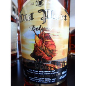 "Rhum Amrut ""Old Port"" Deluxe Matured rum 40% 70cl"