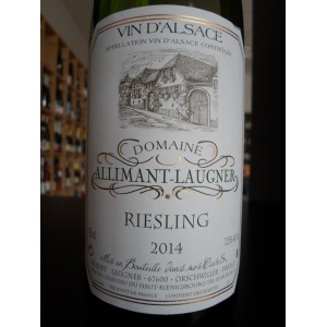 Alsace Riesling 2014 Domaine Allimant-Laugner