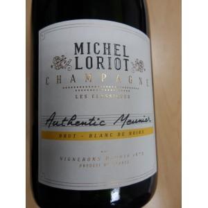 """Champagne Michel Loriot Brut  """"Authentic Meunier"""" blanc"""