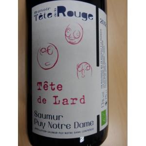 """Saumur Puy Notre Dame rouge """"Tête de Lard"""" 2012, Manoir de la Tête rouge"""