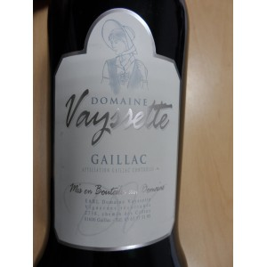 Gaillac rouge Domaine Vayssette 2007