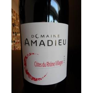 Côtes du Rhône Villages rouge 2014 Domaine des Amadieu
