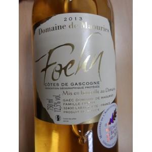 """""""Foehn"""" Vin de pays des côtes de Gascogne blanc moelleux 2013"""