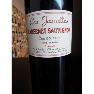 """Cabernet-Sauvignon rouge """"Les Jamelles"""" 2013 IGP Pays d'Oc rouge, Badet-Clément"""